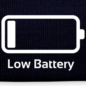 Lavt batteri / Funny & Cool / loading bar Caps & luer - Vinterlue