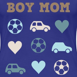 Boy Mom T-Shirts - Women's Premium T-Shirt