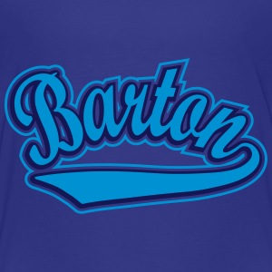 Barton - T-shirt Personalised with your name Shirts - Kids' Premium T-Shirt