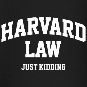 Harvard Law - Just kidding Tee shirts manches longues - T-shirt manches longues Bébé
