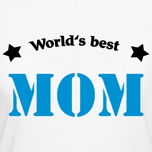 World's best Mom Magliette - T-shirt ecologica da donna