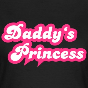 Daddy's Princess T-Shirts - Frauen T-Shirt