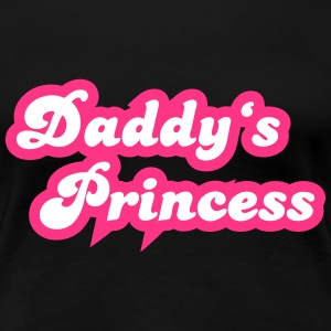 Daddy's Princess T-Shirts - Frauen Premium T-Shirt