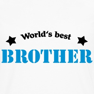 World's best Brother Tee shirts manches longues - T-shirt manches longues Premium Homme