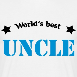 World's best Uncle T-shirts - Mannen T-shirt
