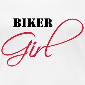 Biker Girl T-Shirts - Frauen Premium T-Shirt