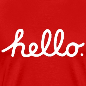 Mac Hello T-Shirts - Men's Premium T-Shirt