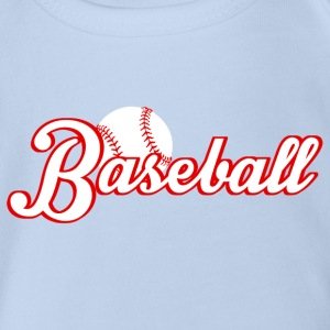 baseball Shirts - Organic Short-sleeved Baby Bodysuit