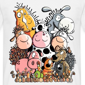 funny farm animals T-Shirts - Men's T-Shirt