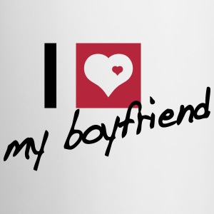 I love my boyfriend Flessen & bekers - Mok