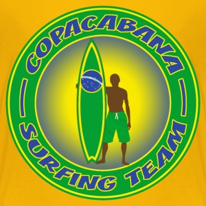 brazil surfing team 01 T-Shirts - Teenager Premium T-Shirt