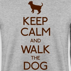 keep calm dog Hoodies & Sweatshirts - Men's Sweatshirt
