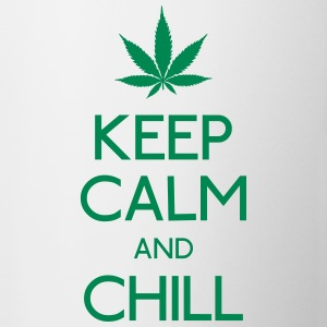Keep Calm and chill Flaschen & Tassen - Tasse
