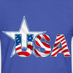 united states 15 T-Shirts - Men's Ringer Shirt