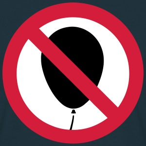 NO Balloon Sign T-Shirts - Men's T-Shirt