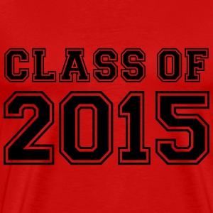 Class of 2015 T-skjorter - Premium T-skjorte for menn