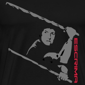 Eskrima -Stickfighting - Männer Premium T-Shirt