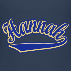 Hannah - T-shirt Personalised with your name Shirts - Kids' Premium T-Shirt