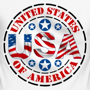 united states 16 Long sleeve shirts - Men's Long Sleeve Baseball T-Shirt