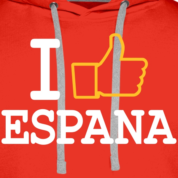 I like Espana Sweat-shirts - Sweat-shirt à capuche Premium pour hommes