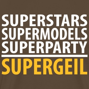 Superparty - Männer Premium T-Shirt