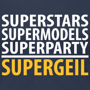 Superparty - Frauen Premium T-Shirt