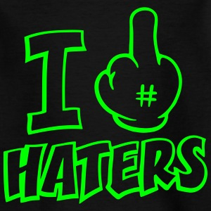 I FUCK HATERS  Tee shirts - T-shirt Enfant
