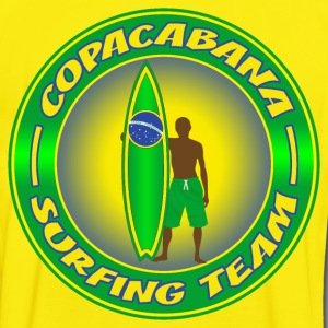 brazil surfing team 03 T-Shirts - Men's Ringer Shirt