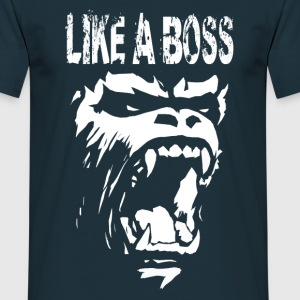 Gorilla like a boss T-Shirts - Men's T-Shirt