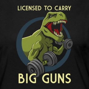 Licensed to Carry Big Guns - Women's Premium Longsleeve Shirt