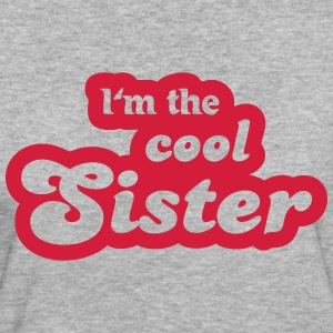 I'm the cool sister T-shirts - Ekologisk T-shirt dam