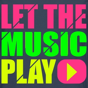 let the music play Long sleeve shirts - Men's Premium Longsleeve Shirt