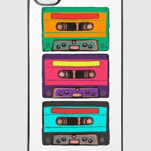Colorful Cassettes Retro Phone & Tablet Cases - iPhone 4/4s Hard Case