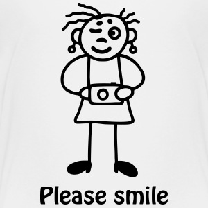 Fotografin - please smile T-Shirts - Teenager Premium T-Shirt