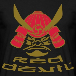 Bushi-Red Devil - Männer T-Shirt