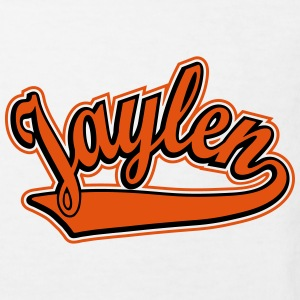 Jaylen - T-shirt Personalised with your name Shirts - Kids' Organic T-shirt