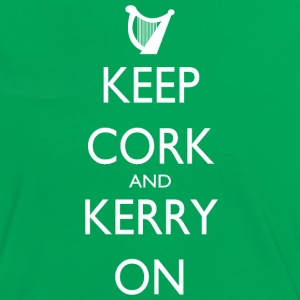 Keep Cork And Kerry On - Women's Ringer T-Shirt