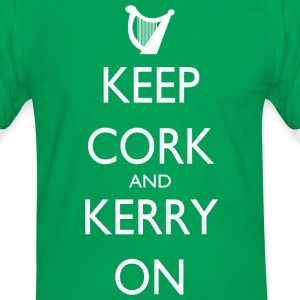 Keep Cork And Kerry On - Men's Ringer Shirt