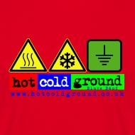 Design ~ Hot Cold Ground Blues Band Plain t shirt, various colours