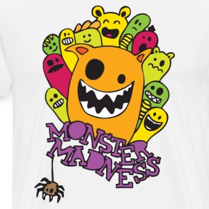 Monster Madness T-shirts - Mannen Premium T-shirt