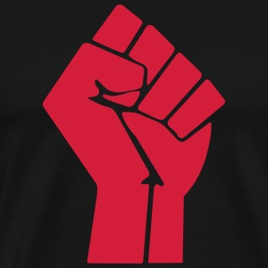 Raised Fist T-Shirts - Men's Premium T-Shirt