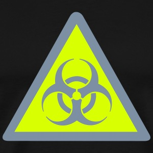 Biohazard Warning T-Shirts - Men's Premium T-Shirt