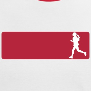 jogging_jogger beam T-Shirts - Women's Ringer T-Shirt