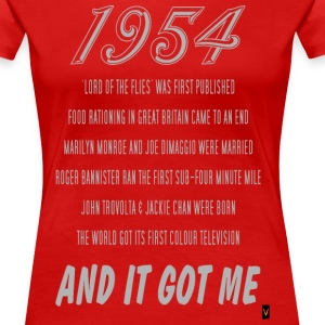 1954 (60th Birthday) - Women's Premium T-Shirt