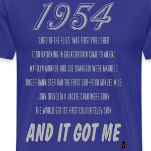 1954 (60th Birthday) - Men's Premium T-Shirt