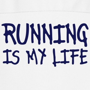 running is my life  Aprons - Cooking Apron