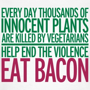 Eat Bacon T-Shirts - Women's T-Shirt