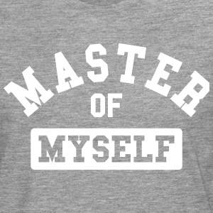 master of myself Long sleeve shirts - Men's Premium Longsleeve Shirt