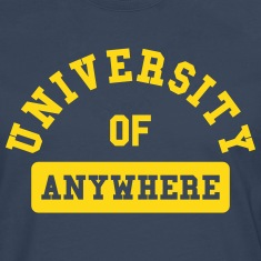 university of anywhere Long sleeve shirts