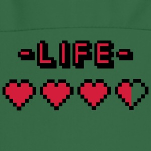 8-bit gamer lifebar  Aprons - Cooking Apron